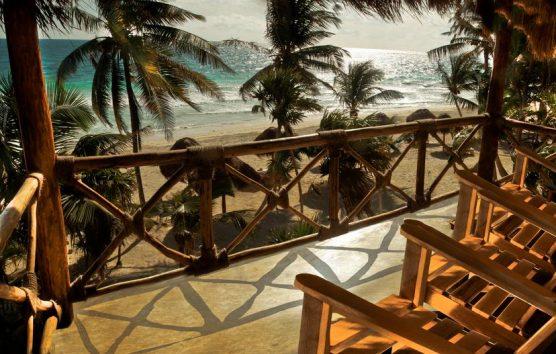 The Cutest Beach Front Hotel in Tulum: Rosa del Viento