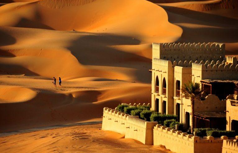 Qasr Al Sarab, Abu Dhabi's desert resort