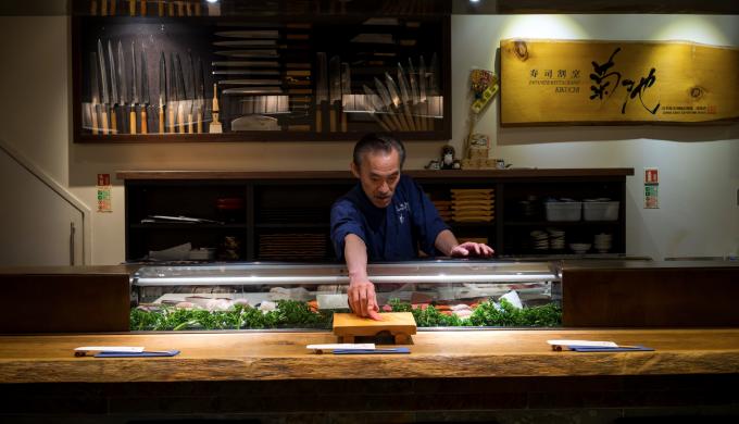 London 39 s most authentic japanese restaurant kikuchi for Asian furniture tottenham court road
