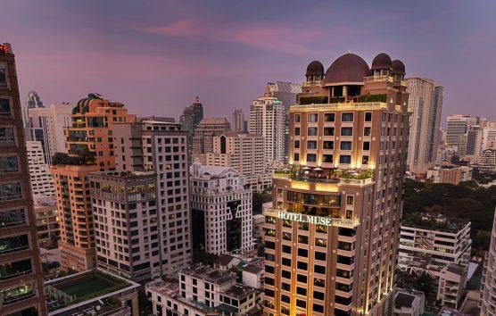 Cool, sky high living at Hotel Muse Bangkok