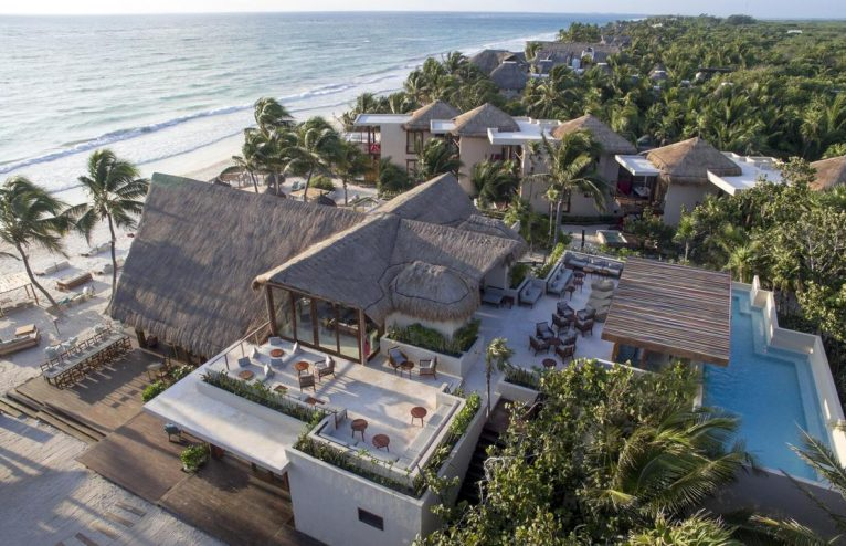 Boho Chic at its best at La Zebra, Tulum