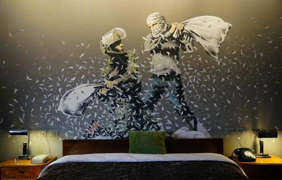 Inside Banksy's Walled Off Hotel, Bethlehem: sleep in a political work of art