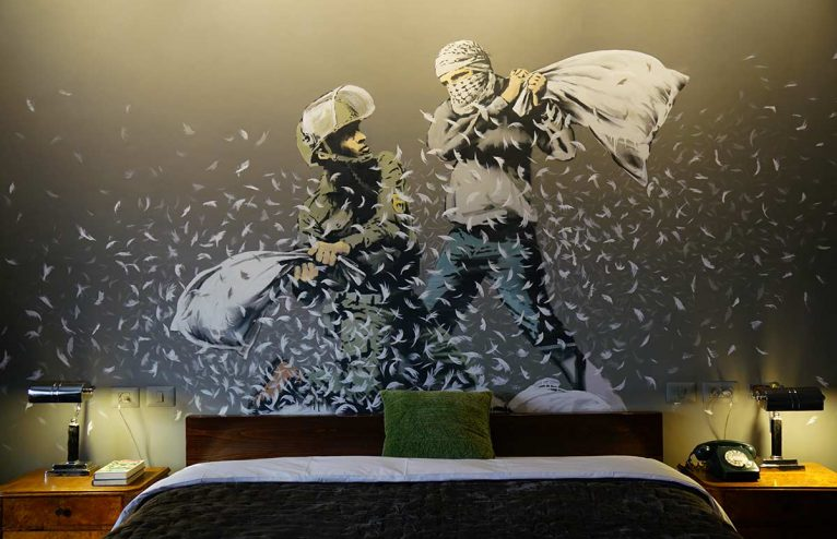Inside Banksy's Walled Off Hotel, Bethlehem: sleep in a political work of art