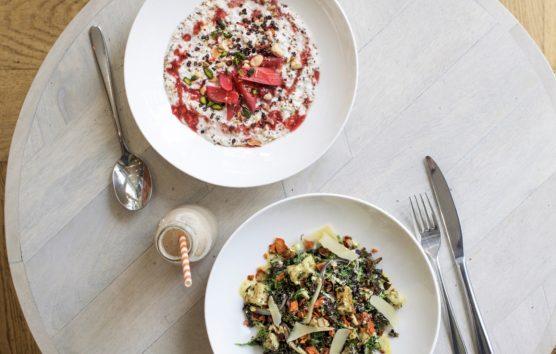The London Café  putting gut health first: High Mood Food