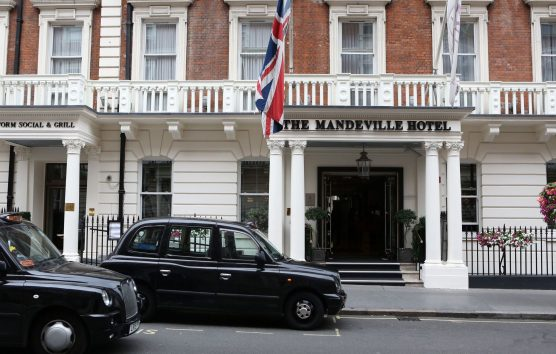 A very fashionable London stay...