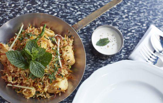 The Signature Recipe: Seafood Tawa Pulao from Jamavar